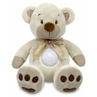 Проектор музыкальный Baby Mix Медведь Puff bear STK-13138 cream